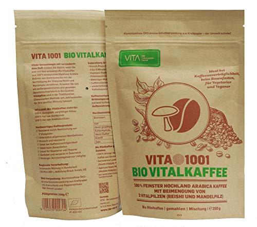 VITA - Bio Lebensmittelhandel e.U. Vitalkaffee, 1er Pack (1 x 250 g)