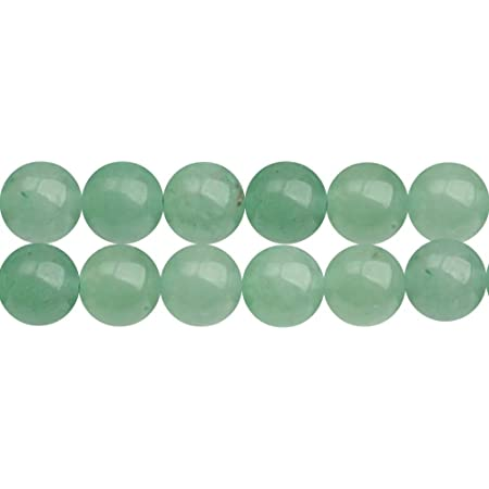 Pcs Gemstones DIY Jewellery Making Crafts Aventurine Round Beads 6mm Green 60