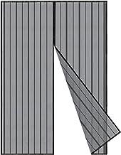 Sekey Magnetisch vliegengaas deur gordijn voor hout, ijzer, aluminium deuren en balkon. Eenvoudige installatie (140x240cm,...