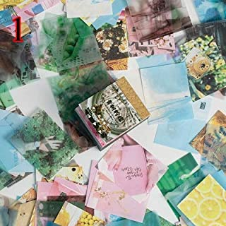 400 Sheets Retor Material Paper Vintage Writing Paper Cards Scrapbooking/Card Making/Journaling Project DIY Diary Decorati...