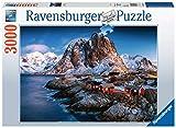 Ravensburger- Hamnoy, Lofoten Puzzle da Adulti, Multicolore, 3000 Pezzi, 17081