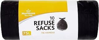 Morrisons 10 Tie Handle General Waste Refuse Sacks