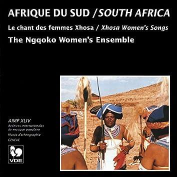Afrique du Sud: Le chant des femmes Xhosa (South Africa: Xhosa Women's Songs)