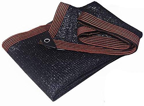 ZXCVB Pantalla solar Tela Shade Sail Shaded Net |90% tasa de sombreado bordes perforados espesados Malla Tarpaulina para jardín de invernadero Planta de flor de jardín Sombrilla de sombra de bloquea