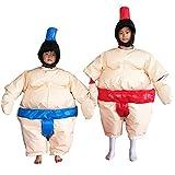 Sumo Suit Wrestling Kids Set 2 Suits Helmet Glove Floor...
