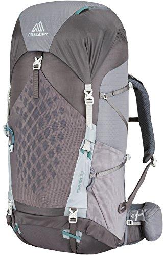 Gregory W Maven 55 Grau, Damen Alpin- und Trekkingrucksack, Größe XS/S - Farbe Forest Grey