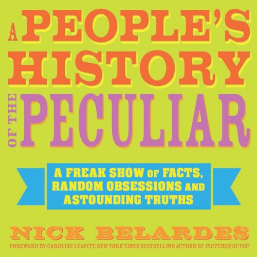 A People's History of the Peculiar audiobook cover art