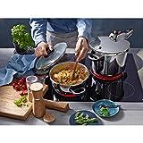 WMF Perfect Schnellkochtopf Induktion 6,5l, Dampfkochtopf, Cromargan Edelstahl poliert, 2 Kochstufen, Einhand-Kochstufenregler - 17