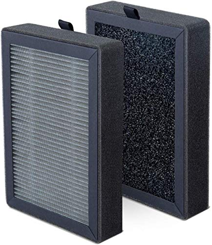 Levoit LV-H13EU-RF Ersatzfilter, hocheffizientes HEPA-Kombifilter & Aktivkohlefilter Set, kompatibel mit Levoit Luftreiniger LV-H13EU