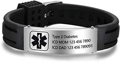 Best cheap id bracelets Reviews
