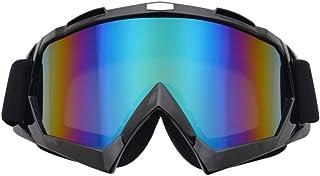 Wakauto Óculos de Motocicleta Óculos de Motocross Off Road Racing Óculos de Motocicleta à Prova de Vento para Escalada, Ci...