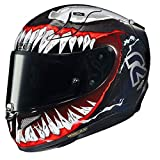 HJC R-PHA-11 Helmet, Hombre, Mc1 Black/Red, XL