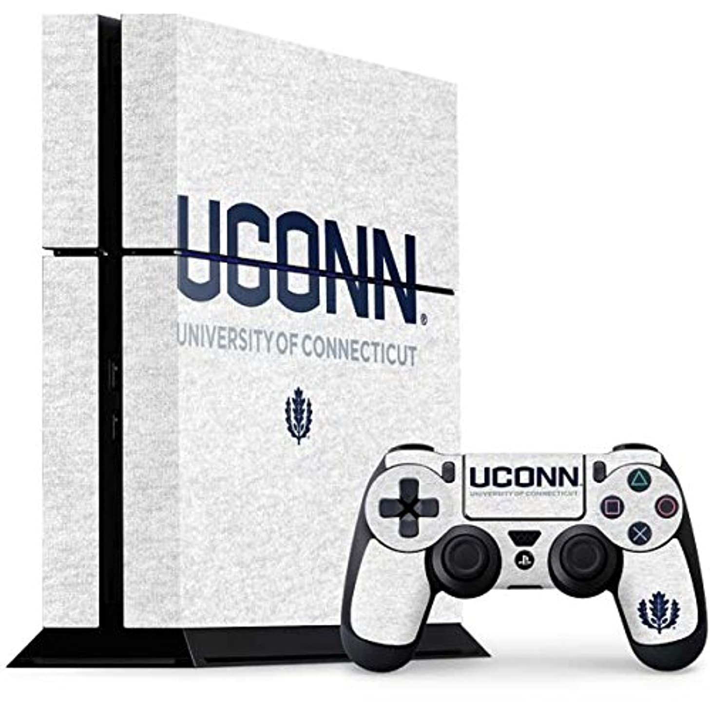 University of Connecticut PS4 Console and Controller Bundle Skin - UCONN   Schools & Skinit Skin