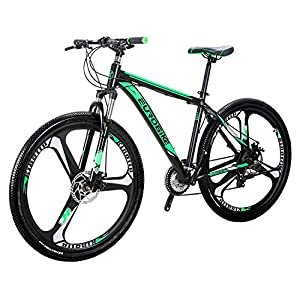 Mountain Bikes Eurobike Mountain Bike X9 Bicycles 29″ 21Speed Dual Disc Brake Spoke Wheels Bike [tag]