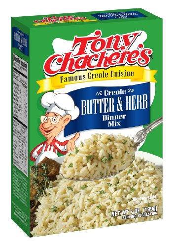 Tony Chacheres Creole Butter and Herb Rice Mix 7 Ounce  12 per case