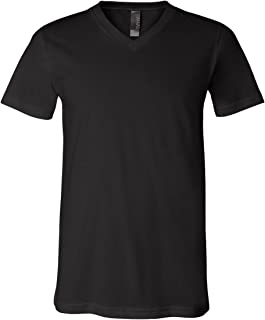 Canvas 3005U Unisex Made in The USA Jersey Short-Sleeve V-Neck T-Shirt