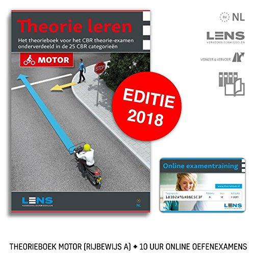 Theorie leren motor: Het theorieboek voor het CBR theorie-examen motor onderverdeeld in de 25 CBR categorieën