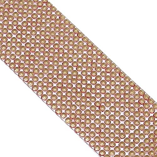 Rodipu Malla de Diamantes, Adhesivo de Diamantes de imitación para Bricolaje, Cinta de Diamantes para Regalos, Decoraciones para Fiestas, cumpleaños, Bodas(Red)
