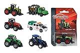 Majorette die cast 212057400Veicolo Agricolo, Assortimento di colori e modelli, 1 pezzo