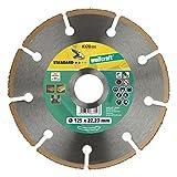Wolfcraft 8370000 disco de corte amoladora para cortar...