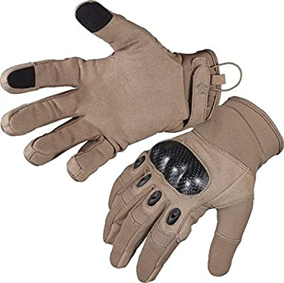 5ive Star Gear Tactical Hard Knuckle Gloves, Coyote, XX-Large