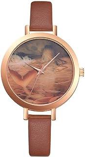 Niome Luxury Leather Classic Fashion Casual Simple Quartz Wrist Watch