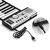 Alician 61 Keys Flexible Roll Up Keyboard Piano Portable Electric Piano Musical Educational