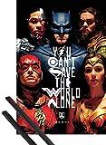 1art1 Justice League Poster (91x61 cm) Faces Inklusive EIN