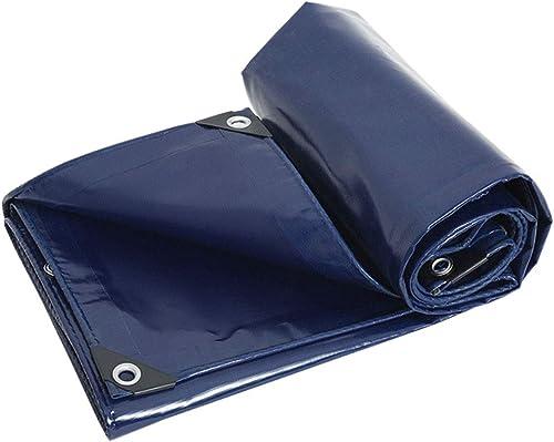 TAO Polyester 0.45mm Ground Cover Housse De Pluie Multi-Usage pour Camping en Plein Air Pêche Abri De Mouche De Pluie (Taille   4x4m)