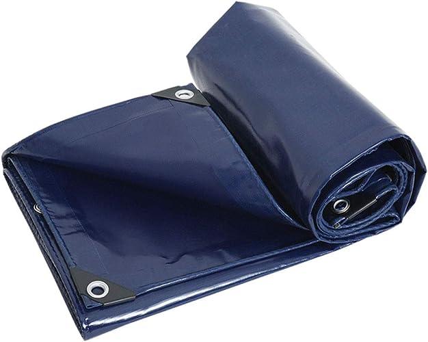 QXX Polyester 0.45mm Ground Cover Housse De Pluie Multi-Usage pour Camping en Plein Air Pêche Abri De Mouche De Pluie (Taille   3x4m)