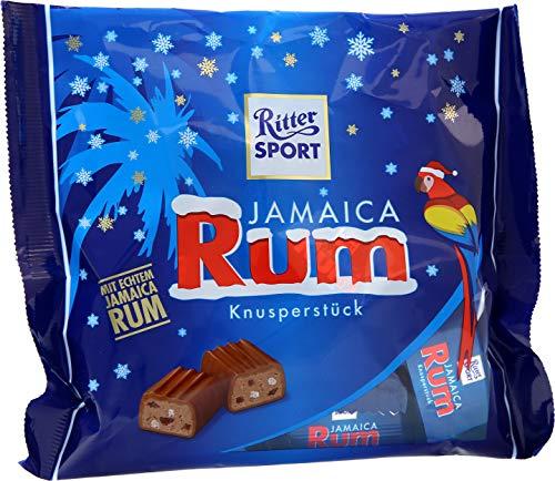 RITTER SPORT Jamaica Rum Knusperstück (1 x 200g Tüte)