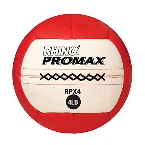 Champion Sports Rhino Promax Slam Balls, 10 sizes, Soft Shell with Non-Slip Grip - Medicine Wall Bal