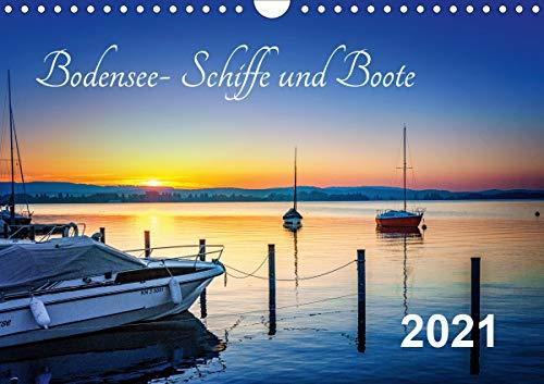 Bodensee-Schiffe und Boote (Wandkalender 2021 DIN A4 quer)