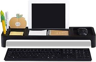 MARSACE Organisateur de Bureau Petits Objets Clavier de Stockage des Marchandises Shelf Rangement pour Ordinateur Tablette...