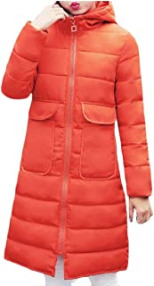 maweisong レディースフード冬コートオーバーロングパーカージャケットアウトウェア