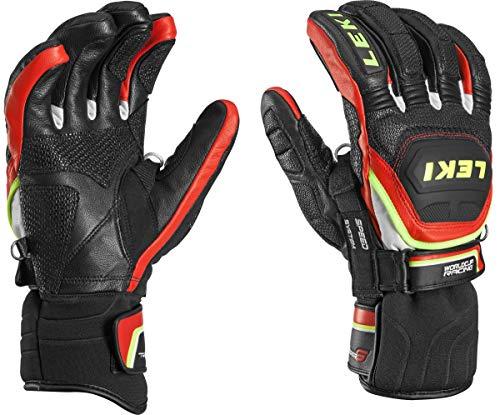 Leki Worldcup Race Flex S Speed System Handschuhe (schwarz/rot), 10.5