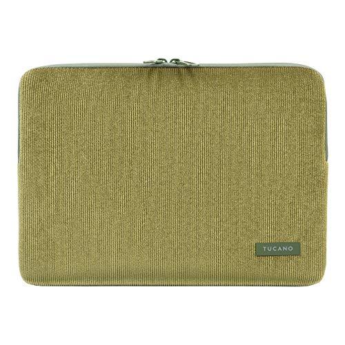Tucano - Funda de terciopelo de neopreno compatible con MacBook Air/Pro de 13 pulgadas y portátil de 12 pulgadas, funda protectora de terciopelo