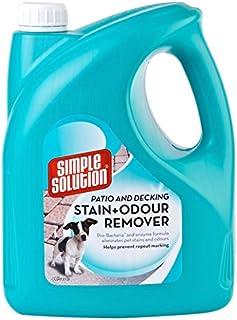 Simple Solution Patio y removedor de Manchas y olores para