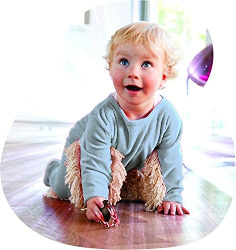 BABYMOP/Wischmop + Strampler = Babymop! Lustiger Strampler, blau, top Geschenk
