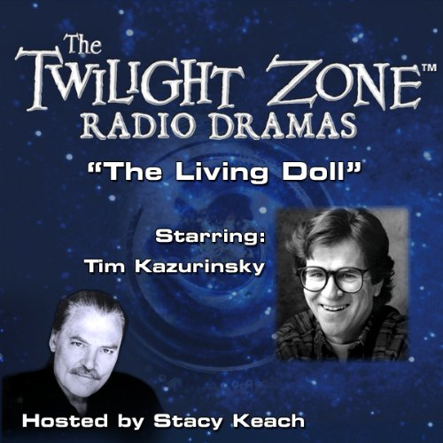 The Living Doll audiobook cover art