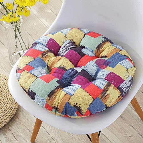 JKCTOPHOME Cojines de Asiento,Cojín de Oficina cojín para Silla de Comedor Suave y cómodo para el hogar-D_40X40cm,Almohadillas para sillas