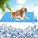 Best Cooling Pad For Dogs - PUPTECK Anti-Slip Dog Self Cooling Mat - Ice Review