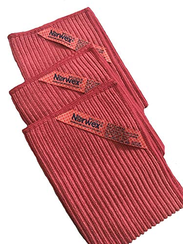 Norwex Kitchen Cloth Trio (Pomegranate)