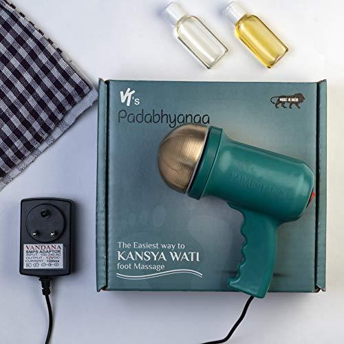 Electric Ayurvedic Kansa Vatki foot massager