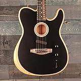 Fender Acoustasonic Telecaster Black エレアコギター フェンダー