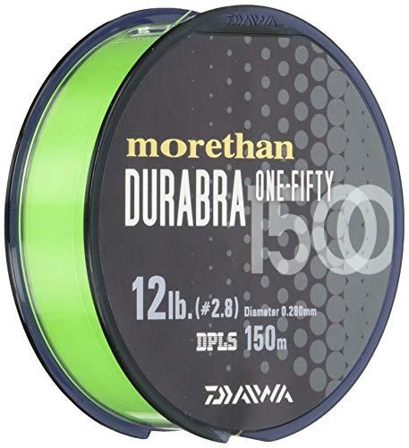 ダイワ(DAIWA) ナイロンライン モアザンデュラブラ 1500 16lb. 150m ライムグリーン