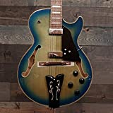 Ibanez George Benson GB10EM-JBB Jet Blue Burst Holow-Body