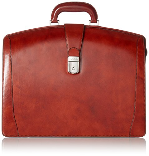 Bosca Old Leather Collection - Partners Brief Briefcase Cognac Leather