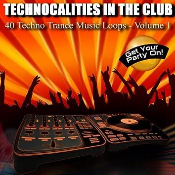 40 Techno Trance Music Loops - Vol. 1