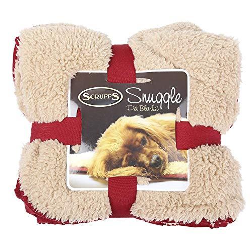 Scruffs Snuggle Hundedecken Farbe: blau Gr. 110 x 72 cm ideal als Schondecke für Körbchen, Möbel und Autositze